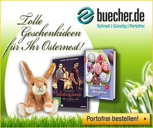Passende Osteraktionen bei buecher.de